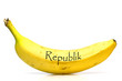 canvas print picture - Bananenrepublik