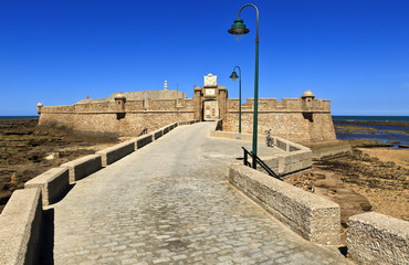 The Castle of San Sebastian, Cadiz, Spain