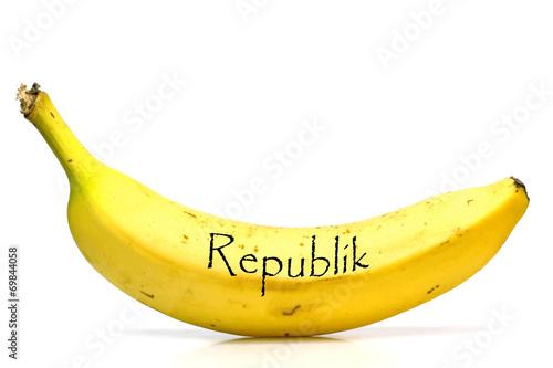 canvas print picture Bananenrepublik