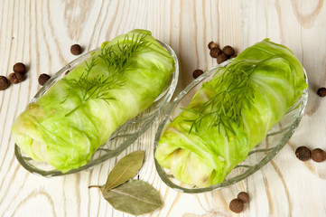 stuffed cabbage roll