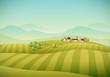 Village Landscape - 69844497