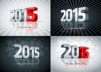 2015 Happy New Year Set