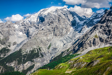 Beautiful mountain located in the Ortles group (Stelvio National