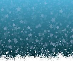 Weihnachten Hintergrund mit Eisblumen