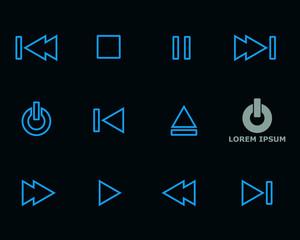 Media Player Icon Symbol
