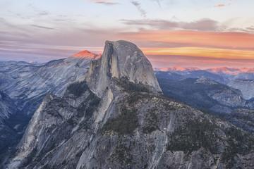 Landscape of the Yosemite National Park