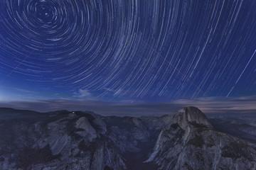 Yosemite National Park at Night