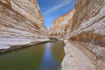 The canyon in Israel - Ein Avdat