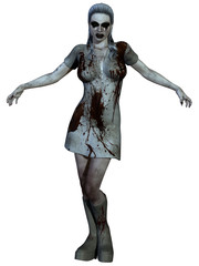 Halloween Creature - Bloody Nurse
