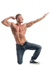 Bodybuilder in Pose