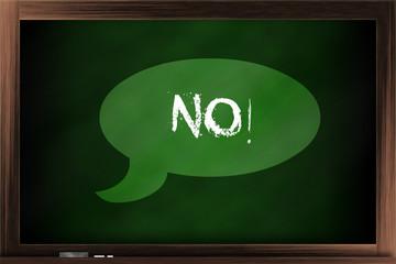 """Say """"No"""""""