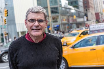 Senior Man Portrait in New York