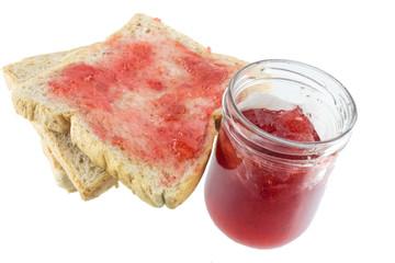Breakfast of toast