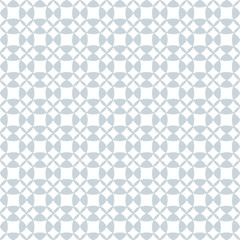 Pale geometric seamless pattern