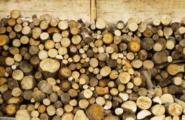 Fire wood barn detail