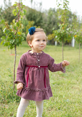 Country garden baby girl