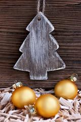 Weihnachten - Dekoration- Baum