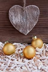 Weihnachten - Dekoration - Herz