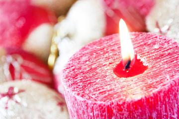 Weihnachten - Dekoration - Kerze