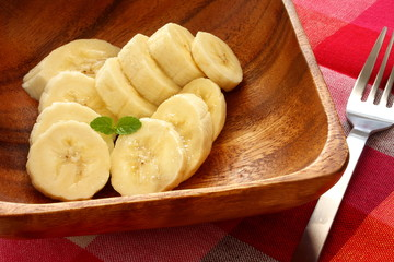バナナ カットフルーツ