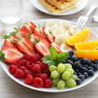 Obstteller / Fruits on a plate