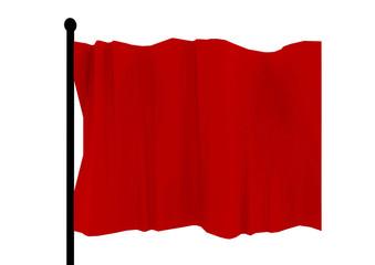 旗 flag 赤