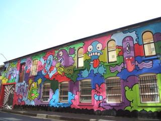 Street art irlandais
