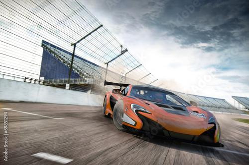 Fotobehang Motorsport carscene 208