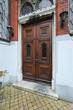 alte Holztür Flügeltür