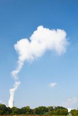 Dampfwolke