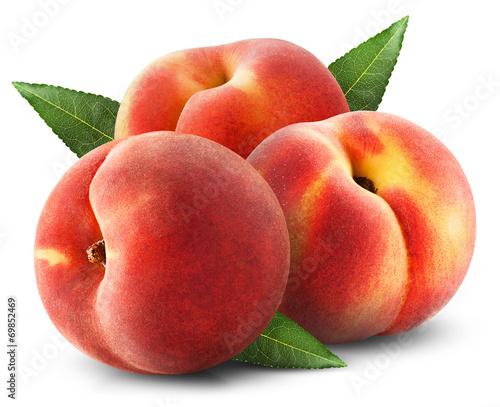 Fotobehang Keuken peaches
