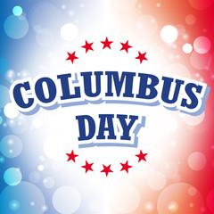 columbus day american flag background illustration 5
