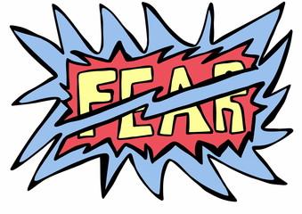 doodle concept fear
