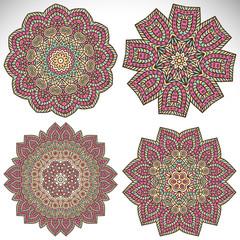 Set  Mandalas