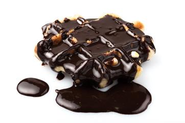 Gauffre au chocolat