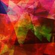 polygonal abstrakt texturen