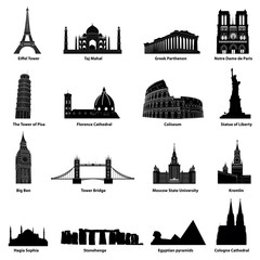 vector set of landmarks