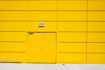 Yellow Door Storage Building