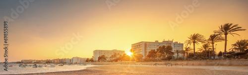 Ibiza island sunset view - 69855898