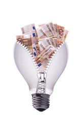 lampadina denaro