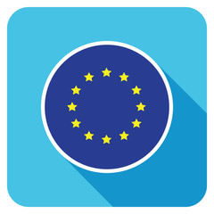 a european flat flag icon