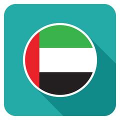 a uae flat flag icon