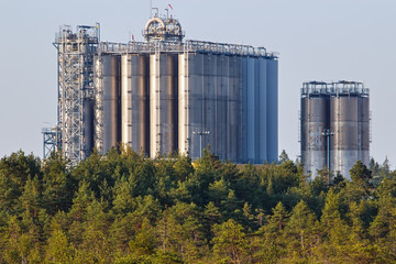Petrochemical production plant in Finland
