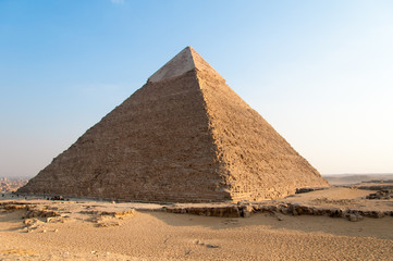 Egyptian Pyramids of the Giza Plateau, Cairo