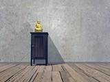 Religious room - 3D render poster