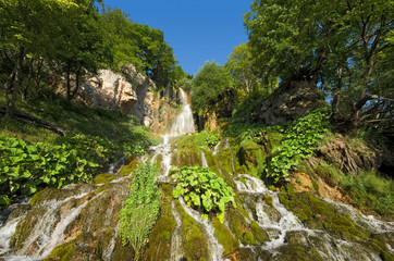 Waterfall In Sopotnica, Serbia