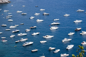 Boats parked