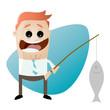 fischen fisch angeln business mann lustig
