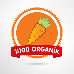 organik havuç