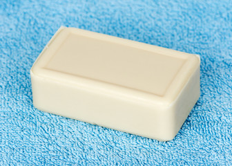 Hygiene soap closeup